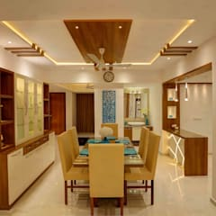 Residential Home Interior:  Dining room by RAK Interiors,