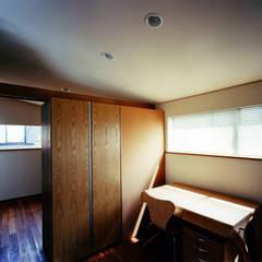 光渓の家 モダンデザインの 書斎 の 西島正樹/プライム一級建築士事務所 モダン