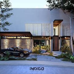 Detached home by Indigo Diseño y Arquitectura