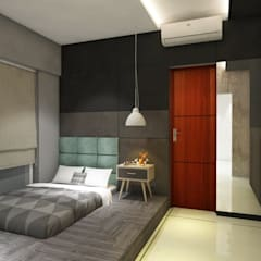 Small bedroom by Area Planz Design