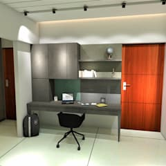 Study/office by Area Planz Design