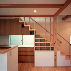 大泉の家: 西島正樹/プライム一級建築士事務所 が手掛けた階段です。