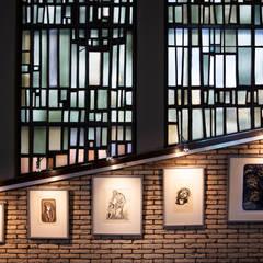 Moreno Licht mit Effekt - Lichtplaner의  박물관