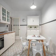 Reportaje fotográfico en Donosti: Cocinas de estilo  de espacios con luz