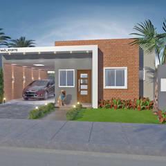 Nhà nhỏ by HECK Arquitetura e Engenharia