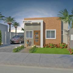 Rumah kecil by HECK Arquitetura e Engenharia