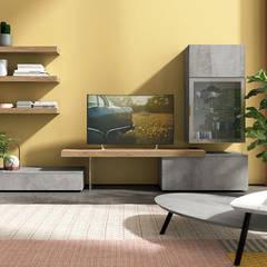Soggiorni moderni design made in Italy Soggiorno minimalista di nuovimondi di Flli Unia snc Minimalista