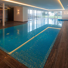 Kolam renang infinity by Çilek Spa Design