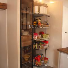 Rénovation de la cuisine d'une maison de village à Montagny par Koya Architecture Intérieure Rustique Métal