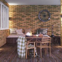 Terrazas de estilo  por Irina Yakushina, Industrial