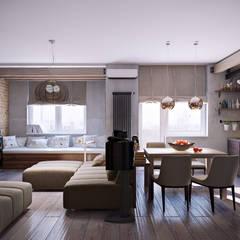 Salas / recibidores de estilo  por Irina Yakushina