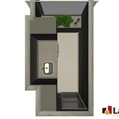Apto. Vereda Reserva VII: Varandas  por LAM Arquitetura | Interiores