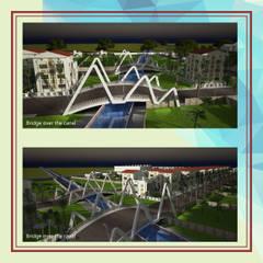 Espacios comerciales de estilo  por Gurooji Designs