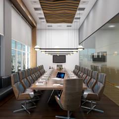 Ruang Kerja oleh Rhythm  And Emphasis Design Studio , Modern