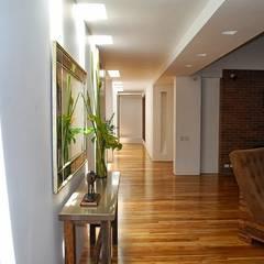 Casa Alzate: Salas de estilo  por diseño con estilo ... sas,
