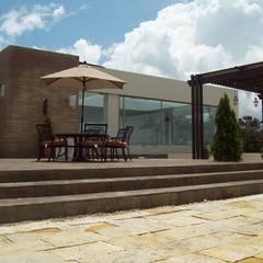Projekty,  Dom rustykalny zaprojektowane przez diseño con estilo ... sas