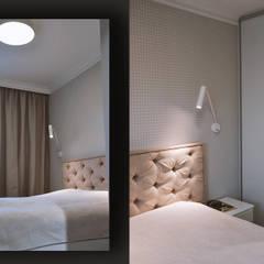 Mieszkanie w stylu angielskim: styl , w kategorii Małe sypialnie zaprojektowany przez SZARA / studio,Klasyczny