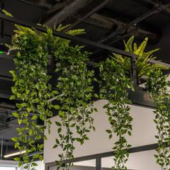 1500 m2 biurowca Marathon – projekt wnętrz siedziby firmy logistycznej: styl , w kategorii Biurowce zaprojektowany przez SZARA / studio,