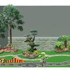Arsitek Taman Surabaya:  Taman batu by Tukang Taman Surabaya - Tianggadha-art