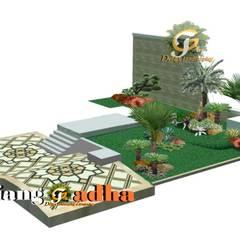 Arsitek Taman Surabaya: Halaman depan oleh Tukang Taman Surabaya - Tianggadha-art,