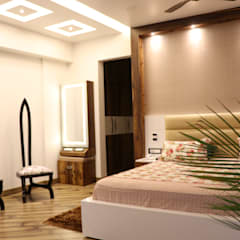 Bishnoi's Residence :  Bedroom by Pixilo Design