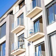 De ruta por el pasado. Trenta Innovative Houses, vivienda prefabricada de hormigón en Madrid.: Casas prefabricadas de estilo  de Trenta Casas Prefabricadas de Hormigón en Madrid