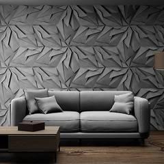Panele ścienne XELIA - Producent ZICARO: styl , w kategorii Ściany zaprojektowany przez ZICARO - producent paneli 3D o strukturze betonu architektonicznego