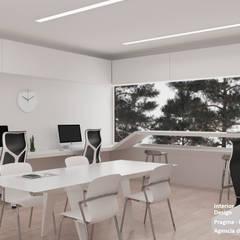 Agencia de publicidad. : Oficinas y Tiendas de estilo  por Pragma - Diseño