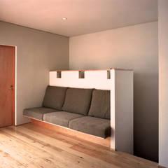 Ruang Komersial Modern Oleh 西島正樹/プライム一級建築士事務所 Modern