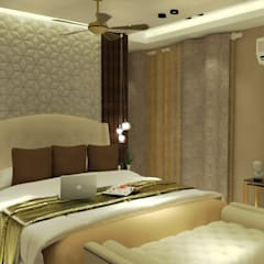 Residence (Interior Project):  Bedroom by Inaraa Designs