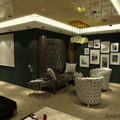 Residence (Interior Project):  Media room by Inaraa Designs
