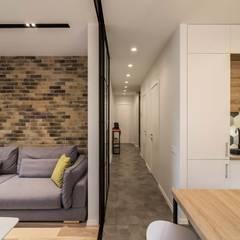 Дизайн квартиры в стиле лофт в Днепре : Коридор и прихожая в . Автор – VAKULENKODESIGN
