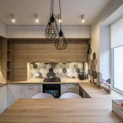 Дизайн квартиры в стиле лофт в Днепре : Кухни в . Автор – VAKULENKODESIGN