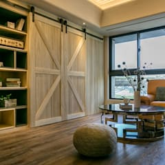 غرفة المعيشة تنفيذ 富亞室內裝修設計工程有限公司