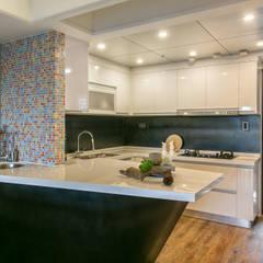 جدران تنفيذ 富亞室內裝修設計工程有限公司, إنتقائي معدن