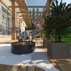 CASA JS: Chalés e casas de madeira  por Cíntia Schirmer | arquiteta e urbanista