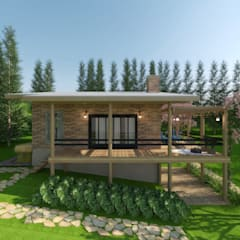 CASA JS: Casas do campo e fazendas  por Cíntia Schirmer   arquiteta e urbanista