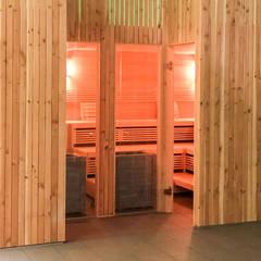 Saunas de estilo  por KOERNER SAUNABAU GMBH