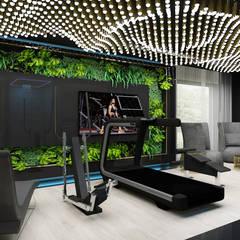 PURE GENIUS | V | Wnętrza domu: styl , w kategorii Siłownia zaprojektowany przez ARTDESIGN architektura wnętrz,