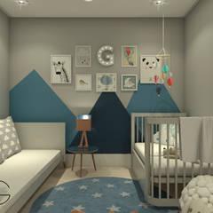 Baby room by Gabriela Viero Arquitetura