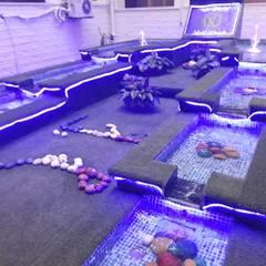 نوافير و شلالات:  حديقة تنفيذ حمامات سباحة ايجي سويم, بحر أبيض متوسط