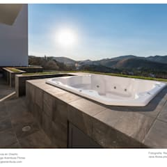 Hot tubs by René Flores Photography, Modern