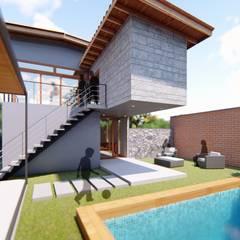 Patio / Jardín: Jardines de estilo  por Proyecta Design