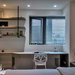 غرفة نوم تنفيذ Zendo 深度空間設計, تبسيطي