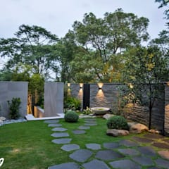حديقة تنفيذ Zendo 深度空間設計