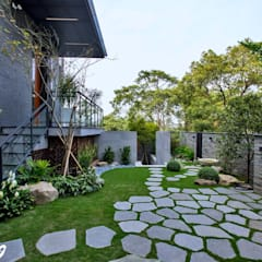 Jardines de estilo  por Zendo 深度空間設計