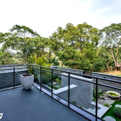 Balkon oleh Zendo 深度空間設計