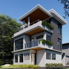 :  Single family home by Studio Each,