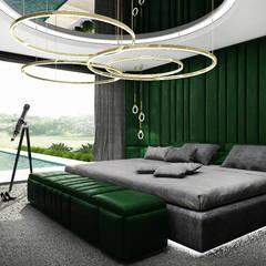 PURE GENIUS | III | Wnętrza domu: styl , w kategorii Sypialnia zaprojektowany przez ARTDESIGN architektura wnętrz