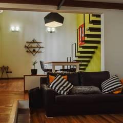 Reforma Casa EF: Livings de estilo  por ERA - Estudio Rosarino de Arquitectura
